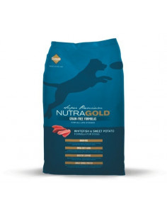 Nutra Gold Grain Free White Fish&Sweet Potato