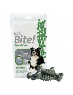 Brit Care Let's Bite Dog Dental Brush Bone