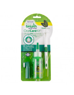 TropiClean Fresh Breath Oral Care Kit Small