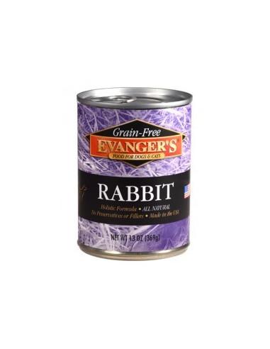 Evanger's Grain Free Rabbit - Królik