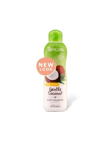 TropiClean Gentle Coconut Puppy Shampoo