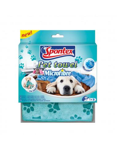 Spontex Pet Towel Ręcznik z mikrofibry dla psa i kota