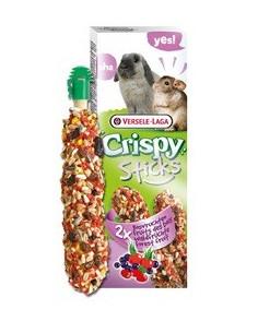 Versele-Laga Crispy Sticks Forest Fruit - Kolby dla królików i szynszyli