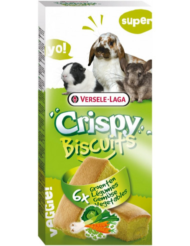 Versele-Laga Biscuit Vegetables - Przysmak dla gryzoni