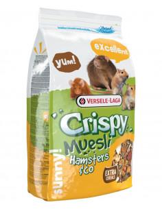 Versele-Laga Crispy Muesli Hamster&Co - karma dla chomików