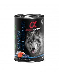 Alpha Spirit Salmon&Blueberries - Łosoś z jagodami