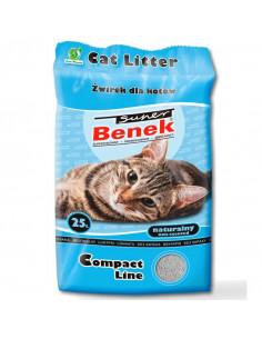 CERTECH Super BENEK Compact Naturalny - żwirek dla kotów zbrylający