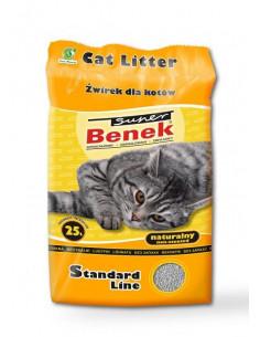 CERTECH Super BENEK Standard Naturalny - żwirek dla kotów zbrylający