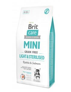 Brit Care MINI Light&Sterilised Rabbit&Salmon