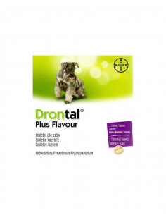 Bayer Drontal Plus Flavour dla psów