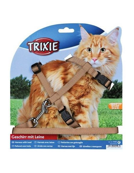 Trixie Szelki ze smyczą dla dużego kota
