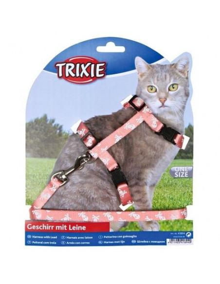 Trixie Szelki nylonowe ze smyczą dla kota