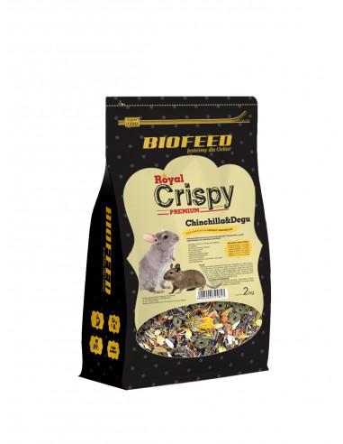 BIOFEED Royal Crispy Premium Chinchilla & Degu - karma premium dla szynszyli i koszatniczek