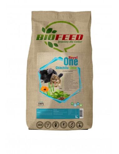 BIOFEED Royal One Chinchilla & Degu - karma dla szynszyli i koszatniczek
