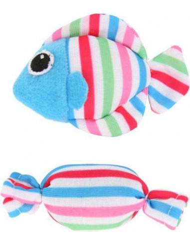 ZOLUX Candy Toys Ryba i Cukierek z kocimiętką - zabawki dla kota
