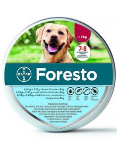 BAYER Foresto Obroża przeciw kleszczom i pchłom dla psów powyżej 8kg