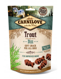 Carnilove Semi-Moist Snack Trout enriched with Dill