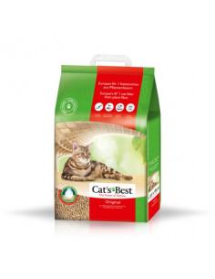 JRS Cat's Best EcoPlus - żwirek dla kotów drewniany zbrylający