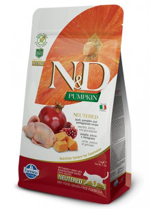 Farmina N&D Pumpkin Quail & Pomegranate Neutered Recipe Cat