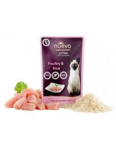 Nuevo Kitten Poultry & Rice - saszetka dla kotów