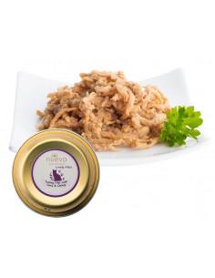 Nuevo CAT Delicious Filet z indyka z tuńczykiem, kocimiętka i olej lniany