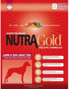 Nutra Gold Holistic Lamb & Rice Adult Dog