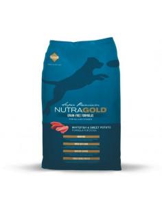 NUTRA GOLD GRAIN FREE Whitefish & Sweet Potato