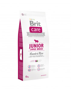 Brit Care New Junior Large Breed Lamb & Rice