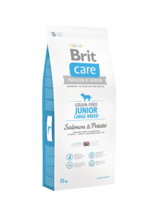 Brit Care New Grain-free Junior Large Breed Salmon & Potato