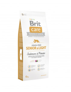 Brit Care New Grain-Free Senior & Light Salmon & Potato